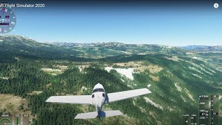 YELLOWSTONE National Park - Microsoft Flight Simulator 2020