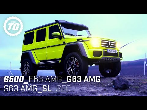 Chris Harris drives… Best of Mercedes: E63 S, SEC, S63 Coupé, G63 AMG, G500 4×4² | Top Gear