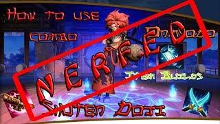 Onmyoji Arena - How To Use Shuten Doji's Combo Guide - Mobile MOBA