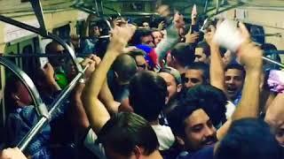 Гости столицы в метро, Аргентина. Чемпионат мира по футболу. Football world Cup.