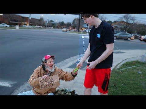 I Gave $20,000 To Random Homeless People
