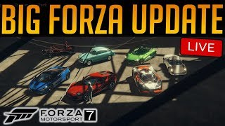 Forza 7 - July Update - Top Gear Car Pack + 2 Porsches | LESS MENU LAG & LESS LOOT BOXES