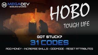 HOBO: TOUGH LIFE Cheats: Add Money, Increase Skills, Godmode, ... | Trainer By MegaDev