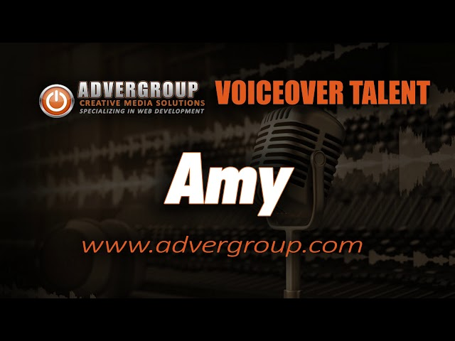AMY Female VOICEOVER ..