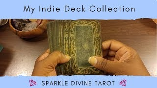 My Indie Tarot Deck Collection