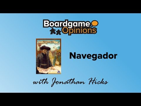 Boardgame Opinions: Navegador