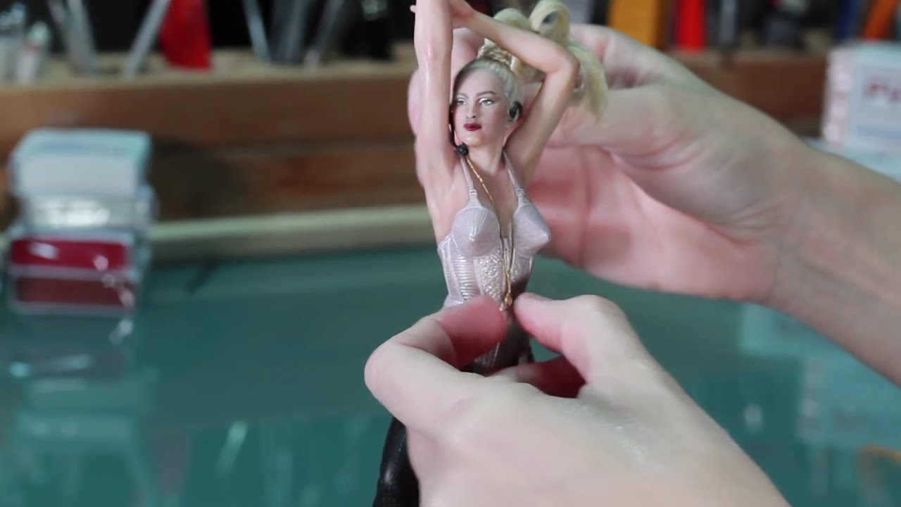 sculpture of madonna tutorial by juliana lepine