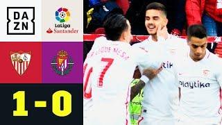 Andre Silva Schießt Sevilla An Tabellenspitze: Sevilla - Valladolid 1:0 | Highlights | LaLiga | DAZN