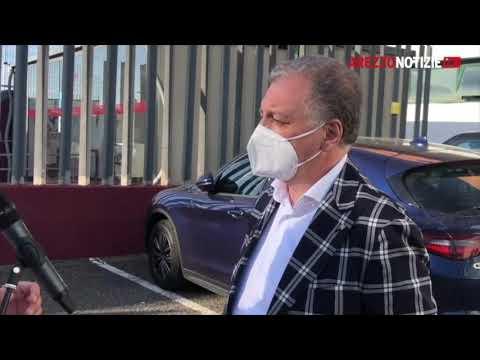 Guglielmo Manzo dopo le riunioni allo stadio