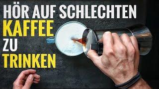 Perfekter Kaffee aus der Bialetti Herdkanne / Espressokanne - wie er besser wird als im Café !