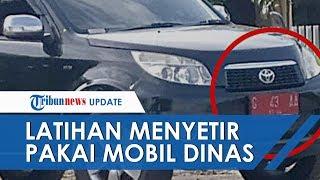 Viral Mobil Dinas Dipakai Latihan Nyetir, Terungkap Pemilik Mobil