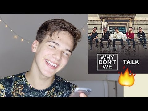 Why Don't We - Talk (REACTION!)