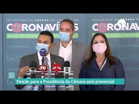 Eleição para Presidência da Câmara será presencial - 18/01/21
