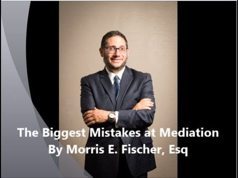 The Biggest Mistakes at Mediation