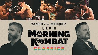 Vazquez vs. Marquez Rivalry | Morning Kombat Classics x SHOWTIME BOXING