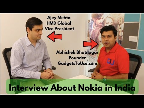 Download Exclusive Nokia India Launch Plans, Price Revealed, Interview With Ajey Mehta, VP, HMD Global HD Mp4 3GP Video and MP3