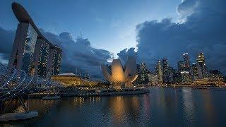 Singapore Reflections - Timelapse 4k