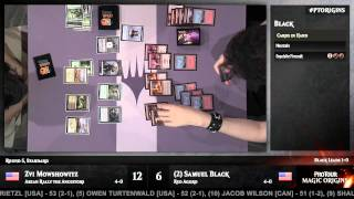 Pro Tour Magic Origins Round 5 (Standard): Zvi Mowshowitz vs. Samuel Black