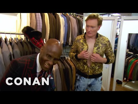 Conan a styling od Dapper Dana