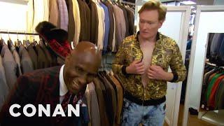 Conan Gets Styled By Dapper Dan  - CONAN on TBS - dooclip.me
