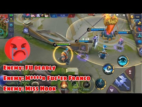 GLOBAL 1 FRANCO FULL RANKED GAMEPLAY | WOLF XOTIC | MOBILE LEGENDS (видео)