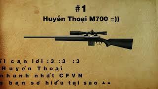CFVN Top 5 Sniper Khủng Nhất Đột Kích ☆☆☆