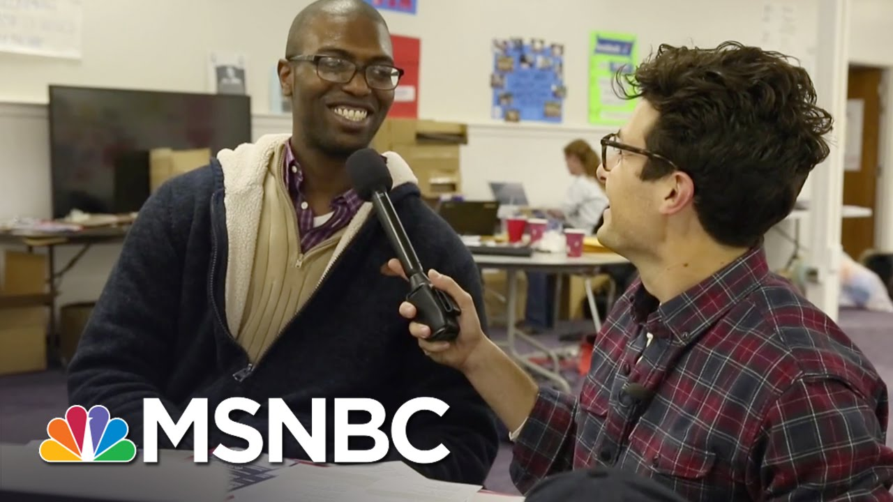 Bernie Sanders Supporters Fly To Iowa From Everywhere | MSNBC thumbnail