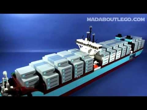 Vidéo LEGO Creator 10241 : Le Triple-E de Maersk Line