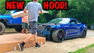 Rebuilding A Wrecked 2017 Mustang GT Part 5