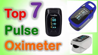 Top 7 Best Pulse Oximeter in India with Price | Finger Tip Pulse Oximeters