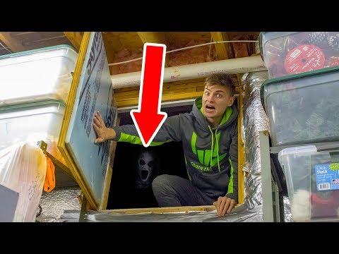 EXPLORING SECRET HIDDEN ROOM!! (HAUNTED)