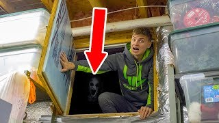 EXPLORING SECRET HIDDEN ROOM!! (HAUNTED)