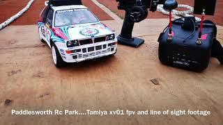 Tamiya xv01 fpv at Paddlesworth Rc Park