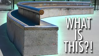 WHO WOULD SKATE THIS RAIL?!