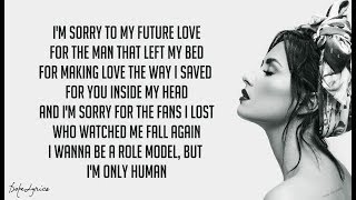 Sober   Demi Lovato (Lyrics) 🎵