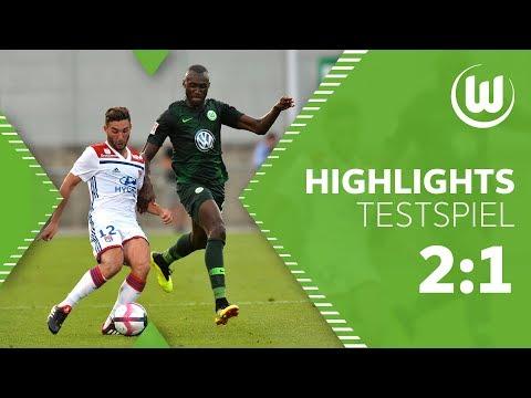Olympique Lyon - VfL Wolfsburg 2:1 | Highlights + Tore | Testspiel