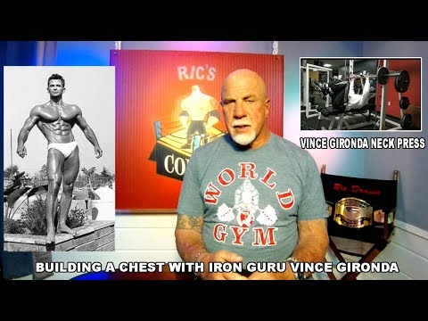 Vinces Gironda Neck Press For Chest