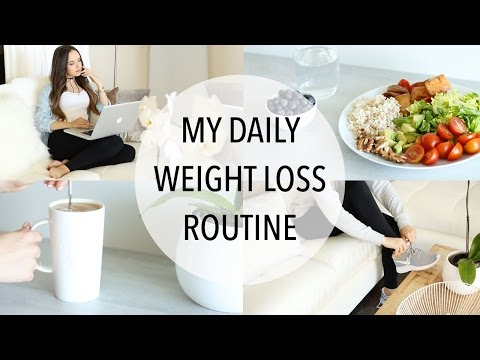 Video MY DAILY WEIGHT LOSS ROUTINE | Easy Ways To Lose Weight!