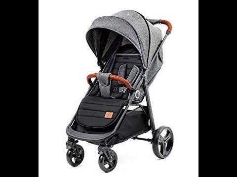 Kinderkraft Grande silla de paseo plegable gris