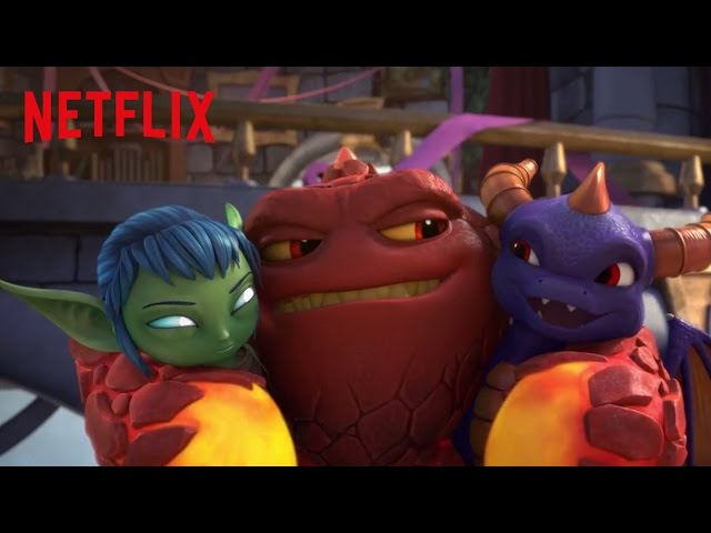 Academia Skylanders | Tráiler oficial | Netflix [HD]