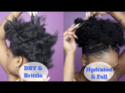 PROTEIN TREATMENT FOR EXTREMELY BRITTLE & DRY NATURAL HAIR | Aphogee 2 Step Treatment