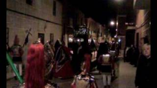 preview picture of video 'entierro de cristo semana santa 2009 aldea del rey 3'