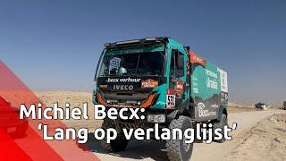 Michiel Becx bij finish Dakar Rally: 'Dit stond al lang op mijn verlanglijstje'