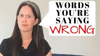 English Words You're Probably Mispronouncing  ❌Difficult English Pronunciation | Rachel's English