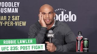 "Robbie Lawler On Ben Askren Controversial Finish: ""S**t Happens"" | UFC 235 Post Fight"