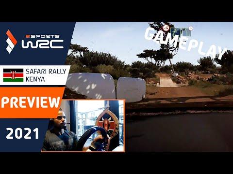 E-sports WRC2021 ケニア プレビュー動画