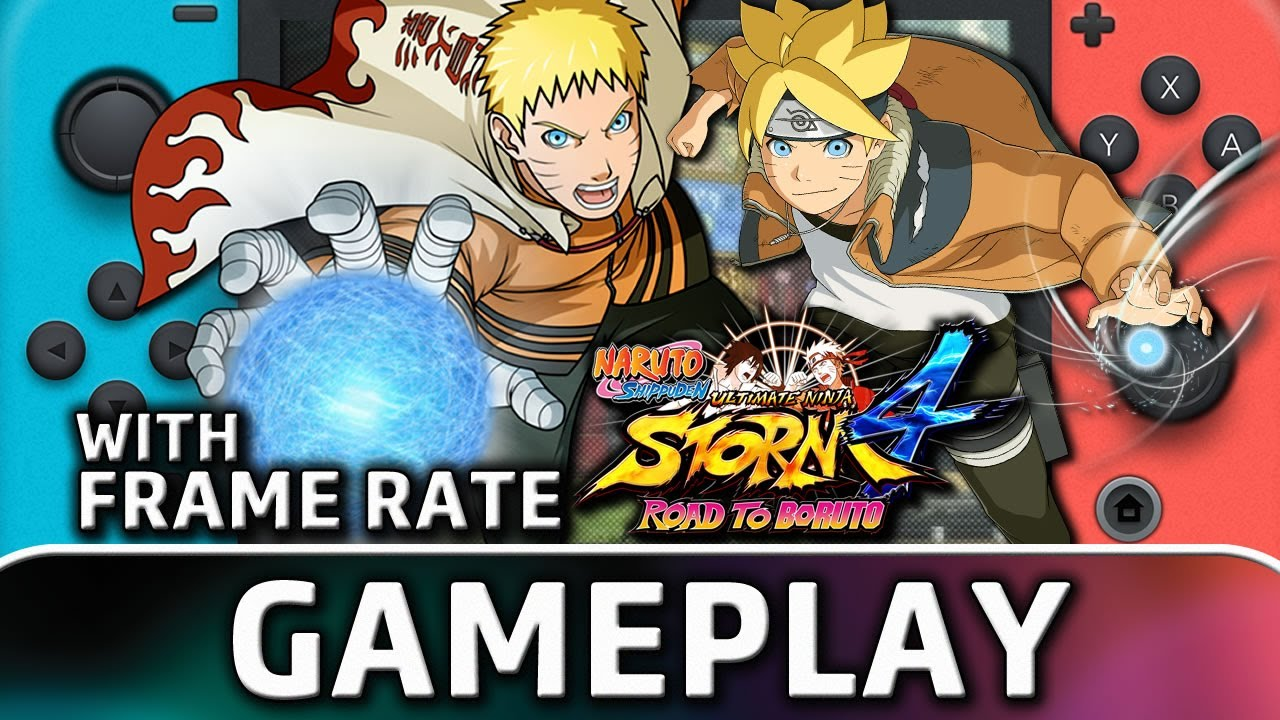 NARUTO SHIPPUDEN: Ultimate Ninja STORM 4 Road to Boruto | Nintendo Switch Gameplay & Frame Rate