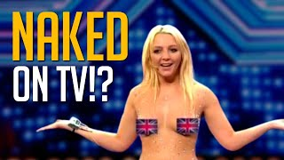 When Contestants Get NAKED On Live TV!