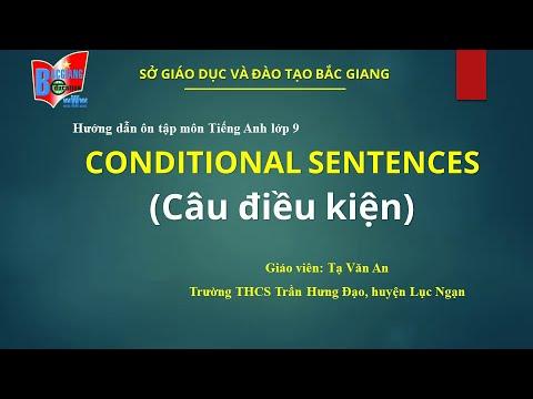 Hướng dẫn ôn tập Tiếng Anh 9: Câu điều kiện