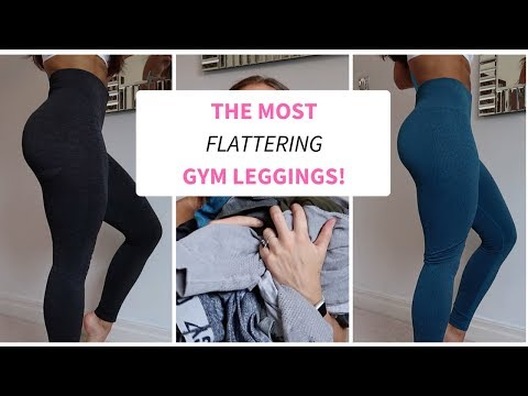 The most flattering gym leggings! Try on & honest review